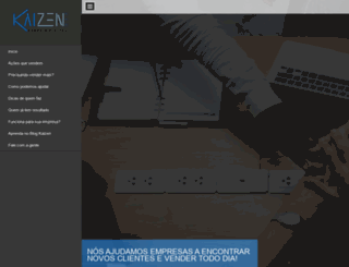 kaizenweb.com.br screenshot