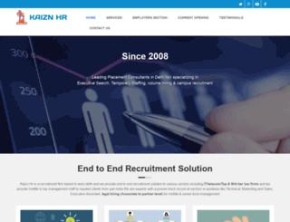 kaiznhr.com screenshot