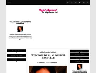 kajalagarwal.blogspot.com screenshot