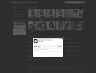 kajalagarwalwallpapers.com screenshot