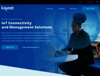 kajeet.com screenshot