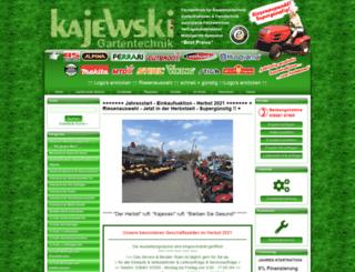 kajewski-gartentechnik.de screenshot