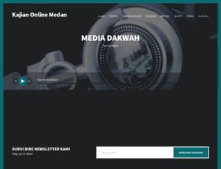 kajianonlinemedan.com screenshot