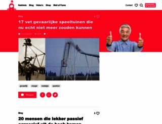 kakhiel.nl screenshot