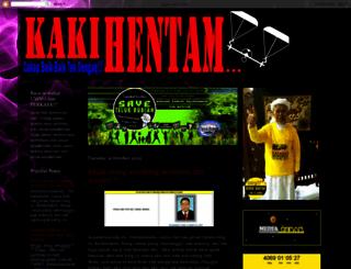 kakihentam.blogspot.com screenshot