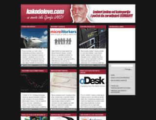 kakodolove.com screenshot