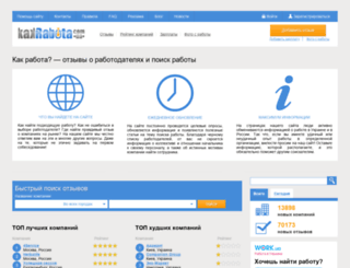 kakrabota.com.ua screenshot