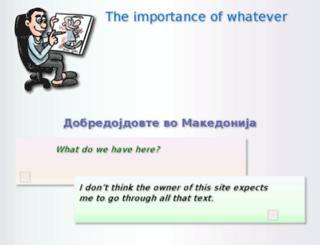 kaktusarnica.blog.com.mk screenshot
