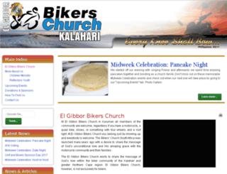 kalaharibikerschurch.co.za screenshot