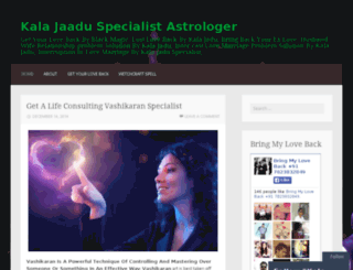 kalajaaduspecialist.wordpress.com screenshot