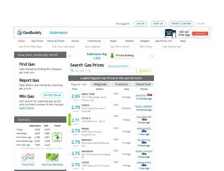 kalamazoogasprices.com screenshot