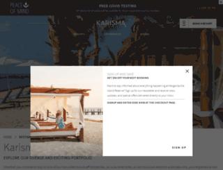 kalamotaislandresort.com screenshot