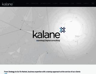 kalane-consulting.com screenshot