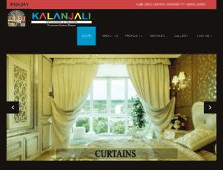 kalanjalidecors.com screenshot