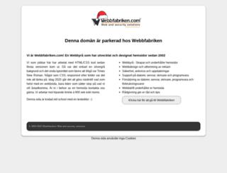 kalaspinglan.webbfabriken.com screenshot