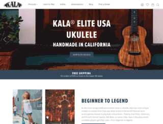 kalaukulele.com screenshot