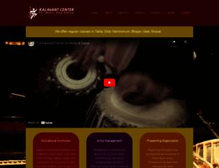 kalavant.org screenshot