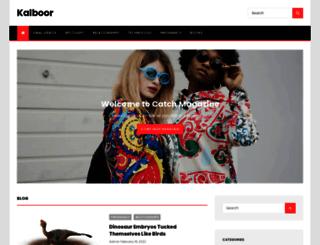 kalboor.com screenshot