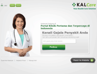 kalcare.co.id screenshot