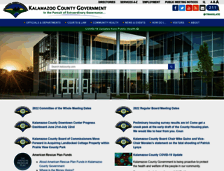 kalcounty.com screenshot