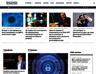 kaldata.net screenshot