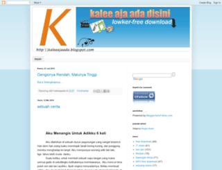 kaleeajaada.blogspot.com screenshot