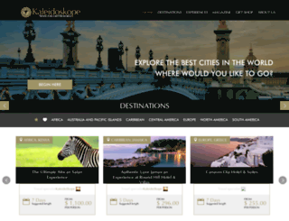 kaleidoskopetravel.com screenshot