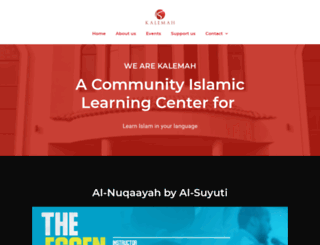 kalemah.org screenshot