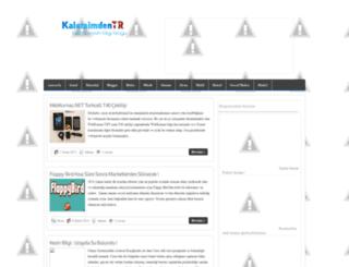 kalemimdentr.blogspot.com screenshot