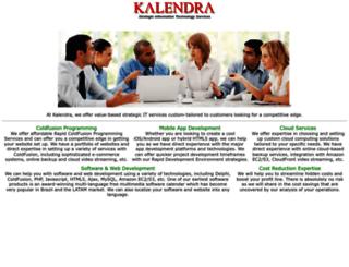 kalendra.com screenshot