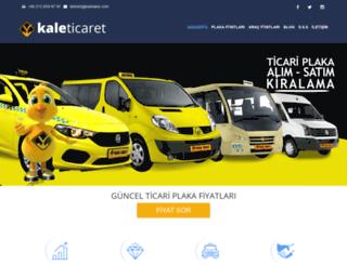 kaleticaret.com.tr screenshot