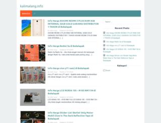 kalimalang.info screenshot
