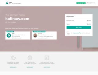 kalinaw.com screenshot