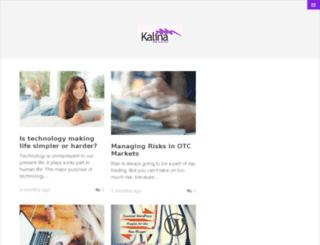 kalinawebdesigns.com screenshot