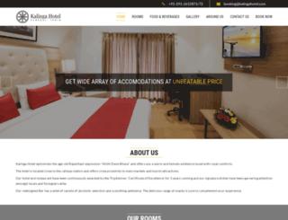 kalingahotel.com screenshot