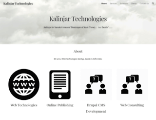 kalinjar.com screenshot