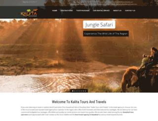 kalitatourtravels.com screenshot