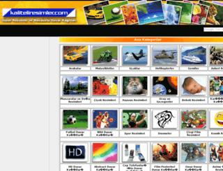 kaliteliresimler.com screenshot