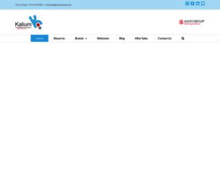 kaliumgroup.com screenshot