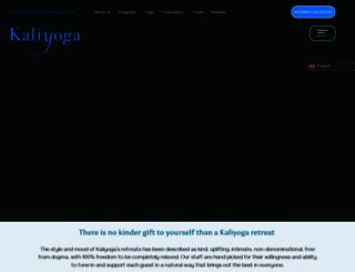 kaliyoga.com screenshot