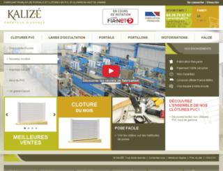 kalize.fr screenshot