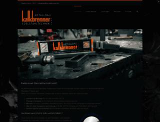kalkbrenner-gmbh.de screenshot