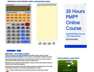 kalkulacka.sk screenshot