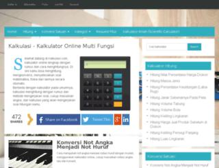 kalkulasi.com screenshot