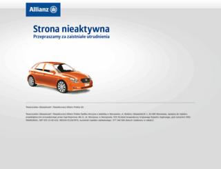 kalkulator.allianz.pl screenshot