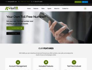 kall8.com screenshot