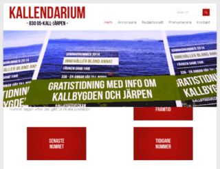 kallendarium.se screenshot