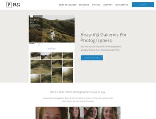 kalliecordonphotography.pass.us screenshot