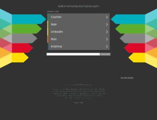 kallurramankuttymarar.com screenshot