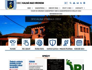 kalna.eu screenshot